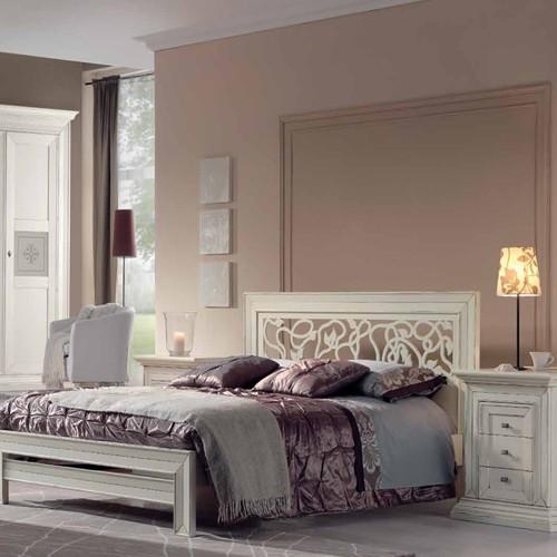 Spavaća garnitura - bračni krevet i noćni stočić - A2-187