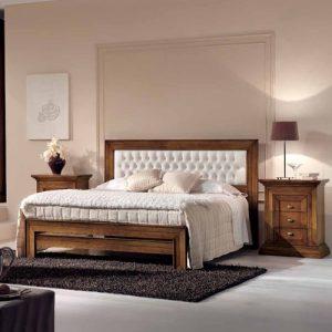 Spavaća garnitura - bračni krevet i noćni stočić - A2-189