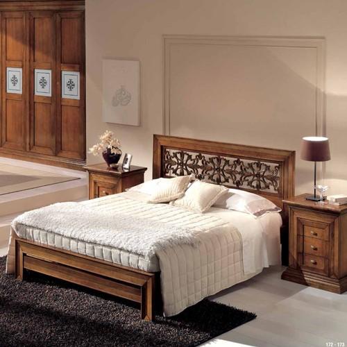 Spavaća garnitura - krevet, orman i stočić - A2-191