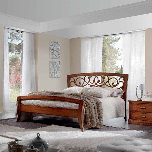 Spavaća garnitura - noćni stočić i bračni krevet - A2-195